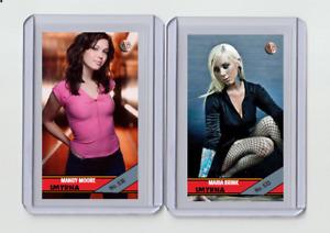 Maria Brink rare MH Smyrna #'d 2/3 Tobacco card no. 533