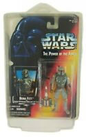 Star Wars Kenner The Power of the Force Boba Fett Figure Hand Error Rare Sealed