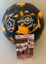 Romain Alessandrini signed Full Size LA Galaxy Logo Soccer Ball Los Angeles  JSA 3a5835873