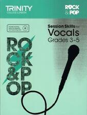 TRINITY ROCK & POP SESSION SKILLS Vocals Gr 3-5+CD
