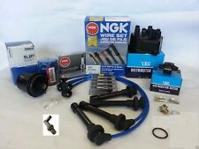 1996-2000 Honda Civic CX DX LX EX 1.6L Tune Up Kit (NGK V-Power Plugs) PCV Valve
