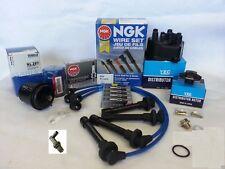 1996-2000 Honda Civic CX DX LX EX 1.6L Tune Up Kit (NGK V-Power Plugs) PCV Valve