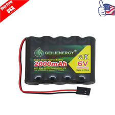 Geilienergy 6V 2000mAh NiMH RX Battery Packs w/Hitec Connector For RC Aircrafts