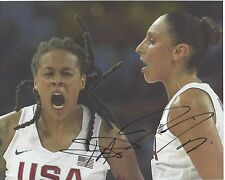 Diana Taurasi Seimone Augustus Signed 8 x 10 Photo Usa Basketball Olympics Wnba