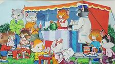 Fab Original Illustration for a Book? At the Party Gouache Ideal for Childs room