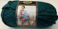 Lion Brand Hometown USA Montpelier Peacock 135-175; Teal Super Bulky; 81 Yds