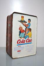 Antigua lata de Cola Cao - Guantes - Motivos Chinescos - original