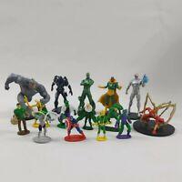 15 X Disney Store Marvel Avengers Super Hero PVC Action Figure mixed Bundle