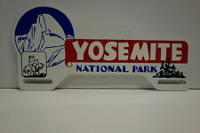 """License Plate Topper LARGE YOSEMITE NATIONAL PARK 4 3/4"""" High by 10"""" Wide"""