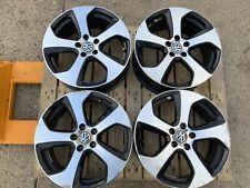 VW GOLF MK7 GTI GENUINE AUSTIN SET OF FOUR ALLOY WHHELS 5G0601025AS