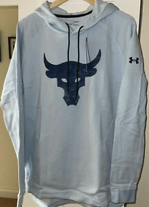 Under Armour Project Rock Charged Cotton Fleece Hoodie - BNWT - Size Large