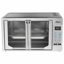French Door Oster Digital Countertop Toaster Oven [NO TAX] Stainless Steel