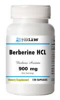 Berberine HCL 900mg High Potency Berberis Aristata 120 Capsule ==ON SALE NOW==