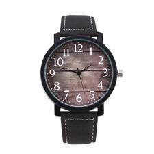 Fashion Mens Womens Ladies Watch Leather Analog Quartz Wrist Watches Black CHEAP