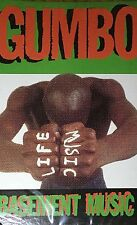 Gumbo - Basement Music 1993 Rap Tape Single Sealed Speech