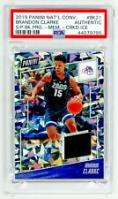 BRANDON CLARKE 2019 Panini National Convention BK21 CRACKED ICE PSA ROOKIE RC