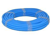 Flexibles Wellrohr M25 50 m Blau Ring Elektrorohr Schutzrohr Leerrohr
