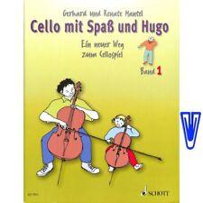 Cello mit Spaß und Hugo Band 1 - Ein neuer Weg zum Cellospiel (+ Notenklammer)