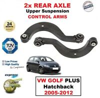 2x REAR AXLE LHS + RHS Upper CONTROL ARMS for VW GOLF PLUS Hatchback 2005-2012