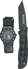 S&W Knives Special Ops Watch/ExtremeOps Linerlock Folding Knife Combo
