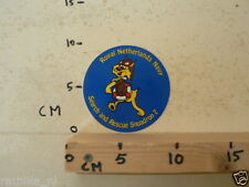 STICKER,DECAL ROYAL NETHERLANDS NAVY SEARCH AND RESCUE SQUADRON 7 KONINKLIJKE MA