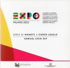 SERIE EURO BRILLANT UNIVERSEL (BU) - ITALIE 2015