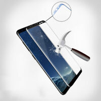 1/2Pcs 3D Tempered Glass LCD Screen Protector Film For Samsung Galaxy S8/S9 Plus