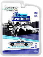1:64 GreenLight *HOLLYWOOD Greatest Hits* BLUES BROTHERS Chicago Police Monaco