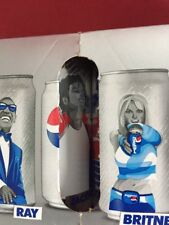 12 Unopened MICHAEL JACKSON Limited Edition Pepsi Generations Can 2018