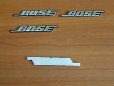 Stemmi logo Bose Fregio 4 pezzi per altoparlanti auto casa audi fiat