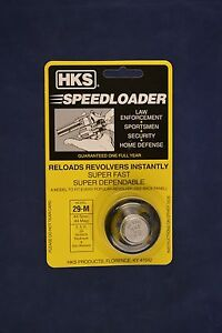 HKS 29-M Speed Loader 44 Mag/Spl Fits Smith & Wesson 629 Redhawk And Others 29-M