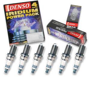 6 pc Denso Iridium Power Spark Plugs for 2008-2016 Toyota Highlander 3.5L V6 vu