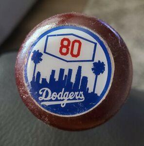 Keibert Ruiz Signed JSA Autographed Game-Used Baseball Bat