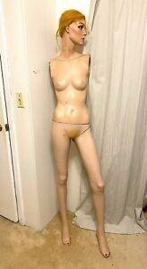 Vintage Adel Rootstein Mannequin TL4 Tracy Leigh Gimbels Strawbridge & Clothier