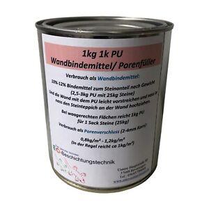 1kg 1k PU vertical Wandbindemittel, Porenfüller, Versiegelung, keine Vergilbung