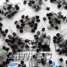 (A1015 - 2N5551) 360pcs 18value Bipolar Signal Transistor TO-92 NPN PNP Kit Set