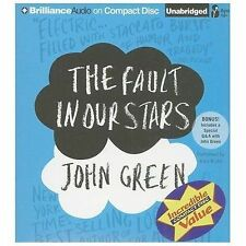 The Fault in Our Stars by John Green (2013, CD, Unabridged)