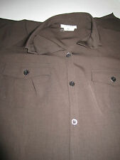 Georges Rech Synonyme Brown Shirtdress Size 44  US Size 14 EUC