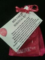 HEN PARTY Survival Kit A Fun CUTE Little Keepsake Bride to Be Hens Wedding