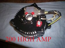 FORD BRONCO Mustang ONE WIRE 3G BLACK ALTERNATOR HIGH AMP 1971 1973 1975 77 1979