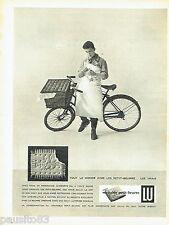 PUBLICITE ADVERTISING  026  1958  Lu  le petit-beurre biscuit