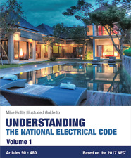 Mike Holt's Understanding the National Electrical Code, Vol. 1 (textbook), 2017