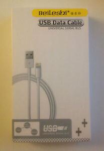 Apple Sync Charger USB Data Cable iPhone6 6plus iPhone5 5s  iPad Mini iPad4 IOS8