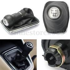 5 Speed Gear Shift Knob Cover Stick Lever Gaitor Boot For VW Bora Golf MK4 Jetta