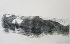 Richard Claude Zeimann (b.1932 NY/CT) Etching Titled Gorky Park, Pencil Signed