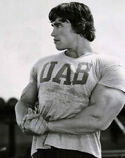 Mens Gym T Shirt  Bodybuilding Top Arnold Schwarzenegger UAB Vintage Gym Wear