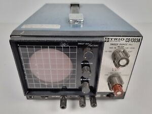 Vintage Kenwood TRIO CO-1303A Oscilloscope Made in Japan 70's