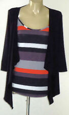 Striped 3/4 Sleeve Casual Knit Women's Tops & Blouses