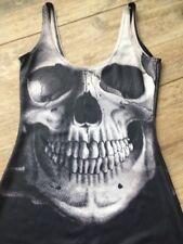 BLACK MILK CLOTHING: SKULL BLACK DRESS - SIZE XS New Rare - MUSEUM ITEM