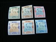 Eritrea Scott #175-180 Set Mint Never Hinged